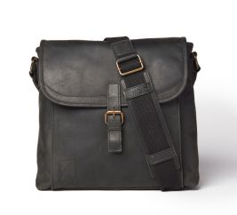 Shipwright Leather Satchel Bag - Black